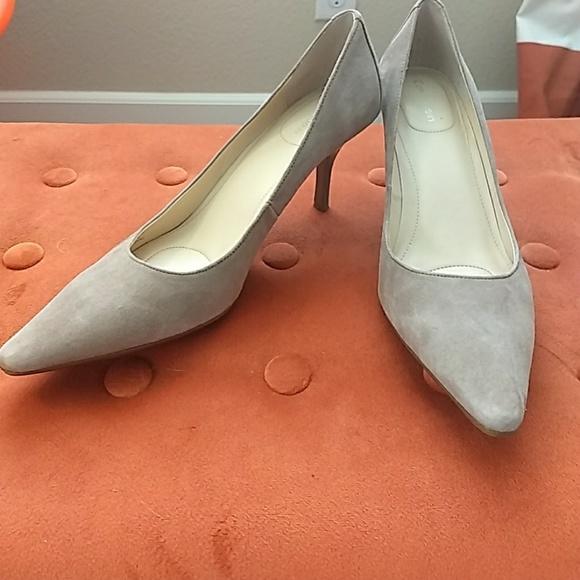 134586c0dfe Calvin Klein Shoes - Calvin Klein Dolly pump in mink suede